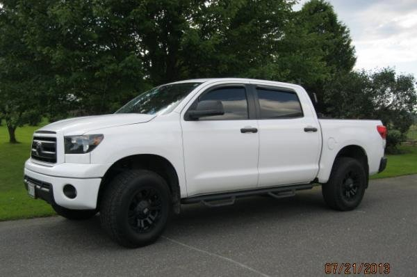 Showcase cover image for Wander's 2012 Toyota Tundra Crewmax 4x4