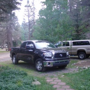 Dascrow's Tundra  Camping in Colorado