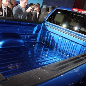 2007 Tundra Blue - Bed Shot