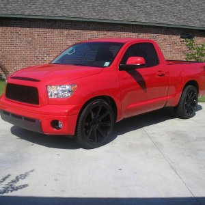 Todd 's Red Tundra